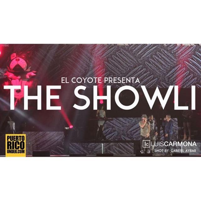 El Coyote Presenta: The Showli @elcoyotetheshow @nolimitpr @pacolopezpr shot by: Gabriel Aybar @thegab7 @puertoricounder @letusdotheworkforyou @luiscarmona #puertoricounder @alexisyfido @arcangel @pushocpw @jbalvin link: https://youtu.be/pybKH7ger3I