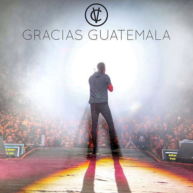 Gracias Guatemala. #carlosvives #teamvives @carlosvives #vallenato #vivesenguatemala photo: Luis Carmona @puertoricounder @letusdotheworkforyou @luiscarmona