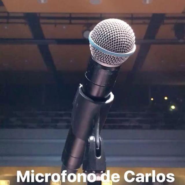 Sound check ready. @carlosvives #bogota #colombia #universidadsergioarboleda